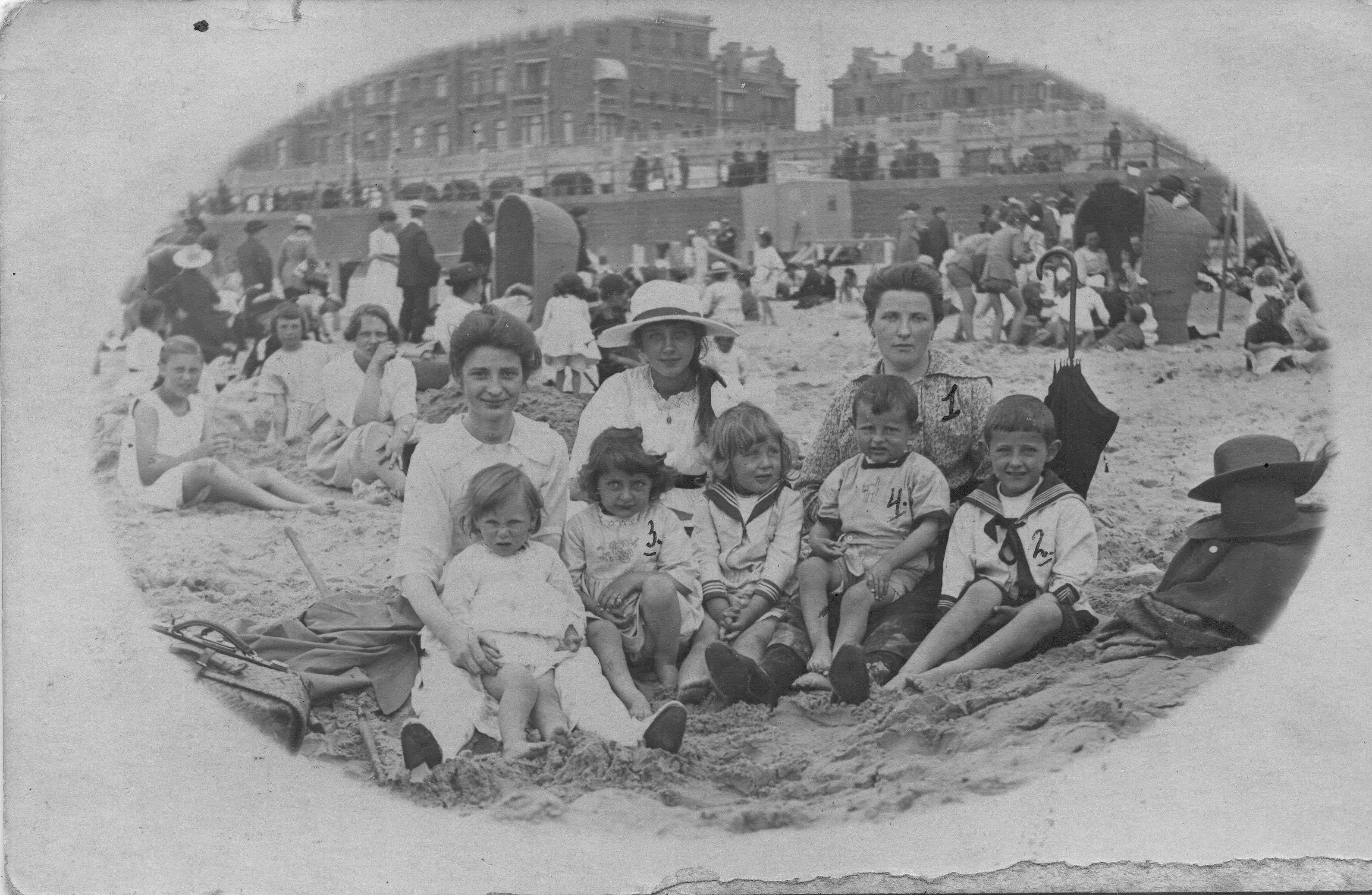 dagje scheveningen 1921